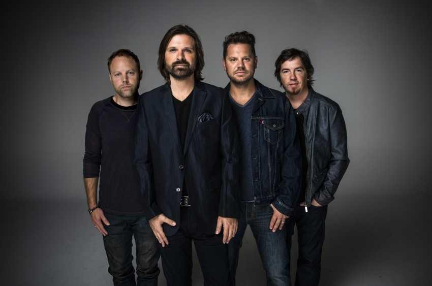 The popular Georgia-based Christian band Third Day