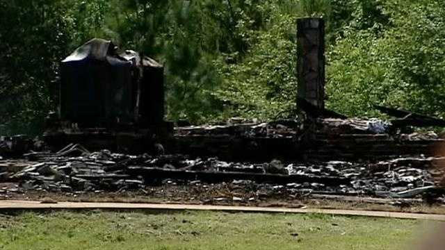 """Investigators looking into the fire that destroyed a gated mansion in Taylors know as """"The Castle"""" are calling it suspicious. Click through to see more pictures after the fire."""