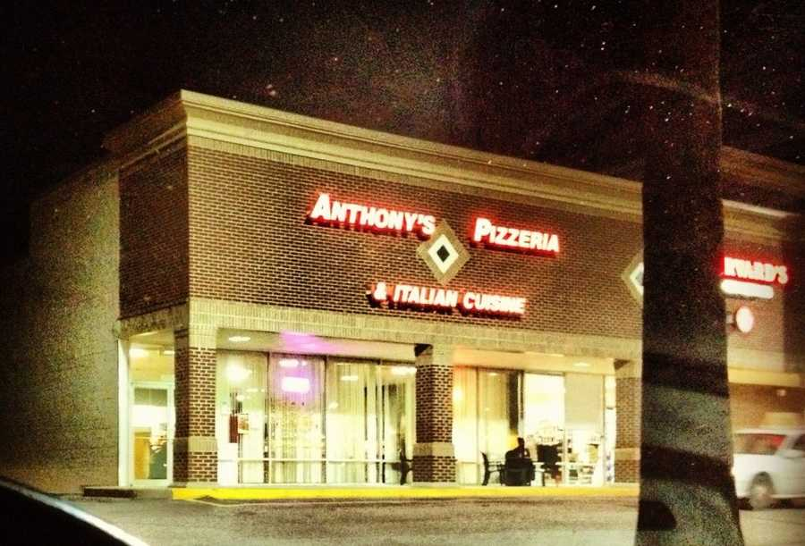 Anthony's Pizzieria, Fairview Road, Simpsonville: 10 nominations