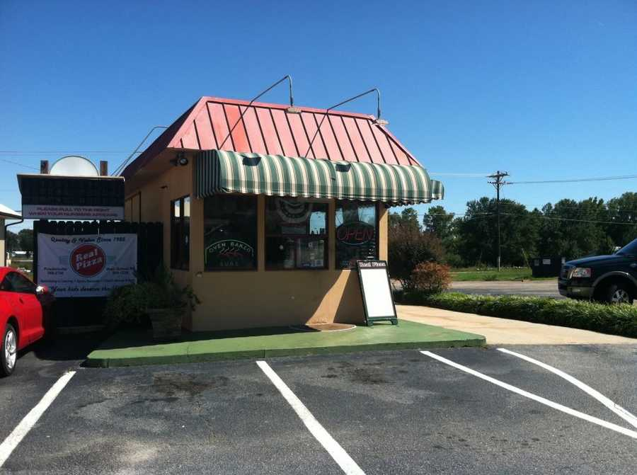 Real Pizza, Highway 81, Powdersville: 10 nominations