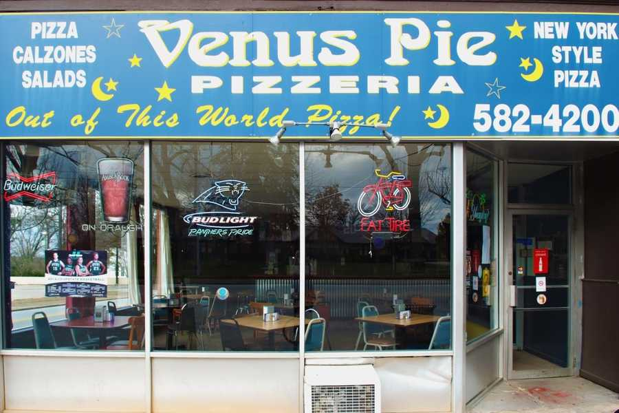 Venus Pie, East Main Street, Spartanburg: 10 nominations