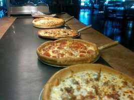 2-way tie for 10th Place: Frodo's Pizza, Cherrydale Point, Greenville: 17 nominations