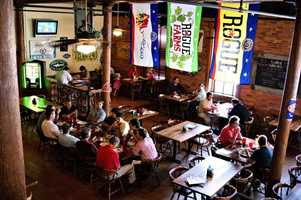 7th Place: Barley's Taproom & Pizzeria, Washington Street, Greenville: 20 nominations