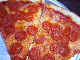 2-way tie for 2nd Place: Tony's Bada Bing, Bronx New York Pizzeria, Woodruff Road, Greenville: 17 nominations