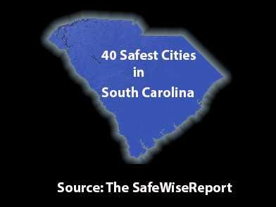 Safewise.com has released a report on the safest cities in South Carolina. They paired research with the most recent FBI crime report. To make our list, a city had to have a population of more than 2,000 as of 2012 and needed to meet criteria regarding both violent and property crimes, according to FBI statistics from 2012. Safewise analyzed the number of violent crimes, as well as property crimes. To account for the varying populations, they calculated the chance of these crimes happening out of 1,000.