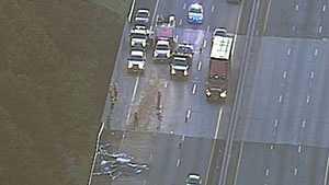 I-85 big rig wreck