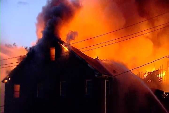 An Upstate church is considered a total loss after a massive fire Sunday night. The fire at the Restoration Fellowship Ministry was first reported around 8 p.m.