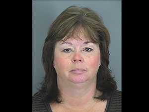 Christine Deyoung: charged with impersonating a law officer