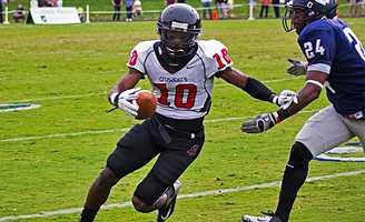 Freddie Martino a wide receiver from North Greenville University signed an undrafted free agent deal with the Atlanta Falcons. Martino was a four-year starter for the Crusaders, leading the team in receptions. Martino finished his career at NGU with 296 receptions for 3,766 yards and 26 touchdowns. Martino added 5 rushing touchdowns as well.
