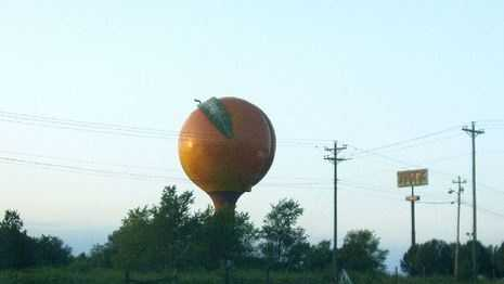 Gaffney peachoid