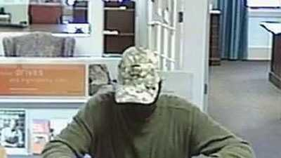 Asheville bank robbery