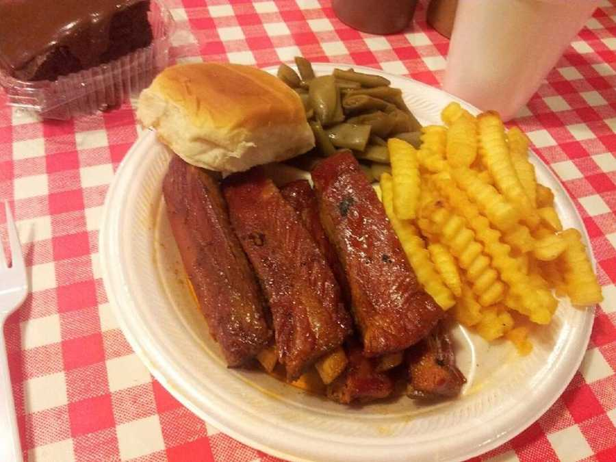 Brushy Creek Bar-B-Que, Anderson Road, Piedmont, 5 nominations