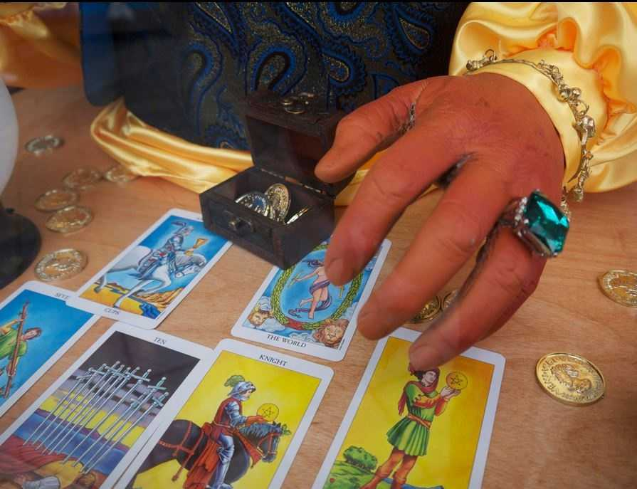 Fortune tellers are required to obtain a special permit from the state.