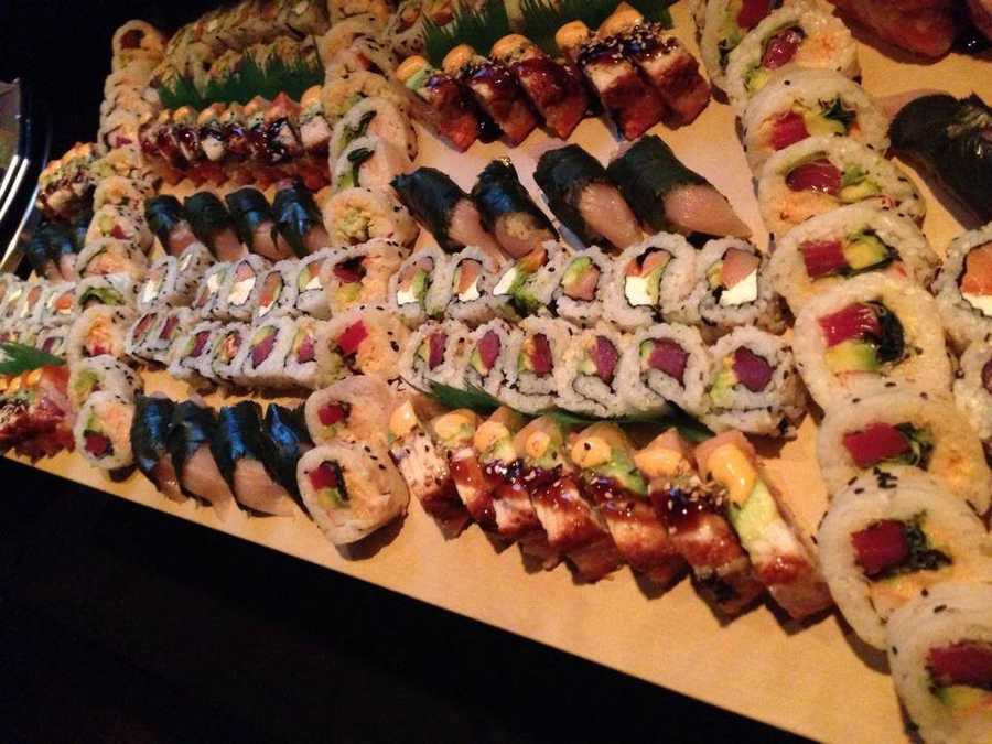 8th Place: Purple International Bistro and Sushi, South Main Street: 10 nominations