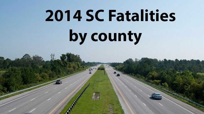 More than 200 people have died on South Carolina roads this year. Here are the traffic fatalities by county.