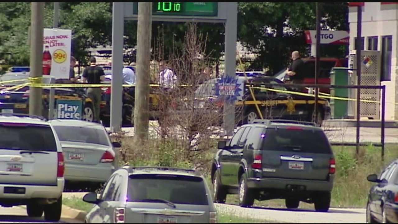 Deputy shoots and kills man at gas station