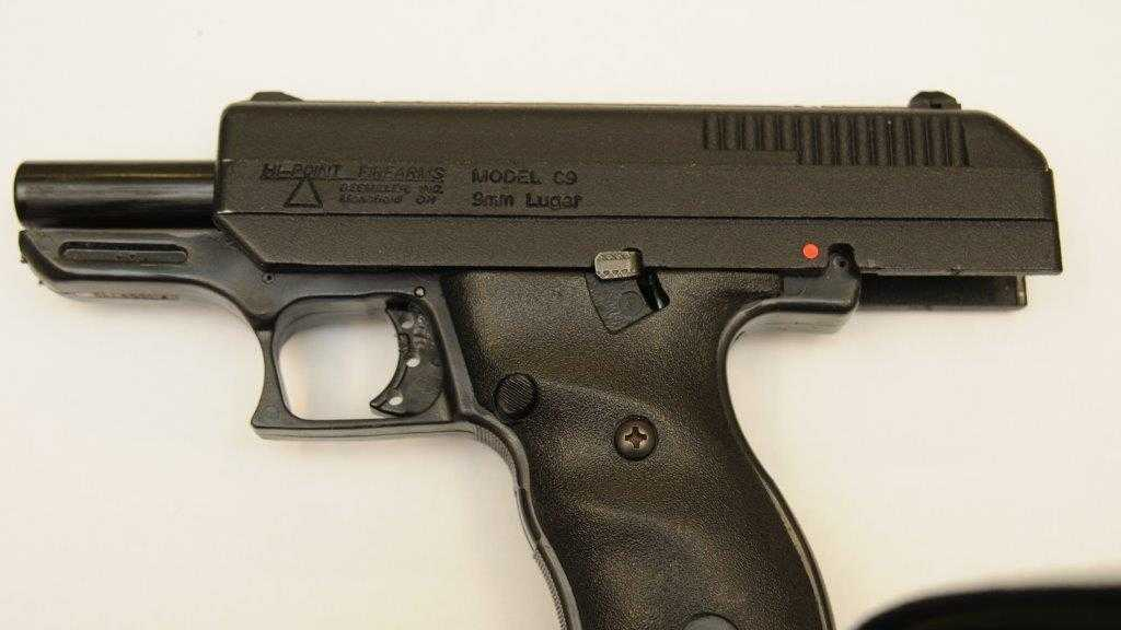 A photo of the gun that was found and is being held as evidence. Source Myrtle Beach Police Department.jpg (1)