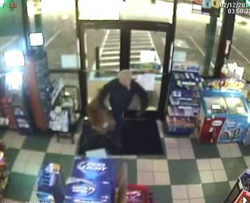 Mauldin police say they are looking for a man who wears a plastic bag over his head to steal cigarettes from convenience stores and pharmacies. Click through to see more pictures of the man police are calling a person of interest.