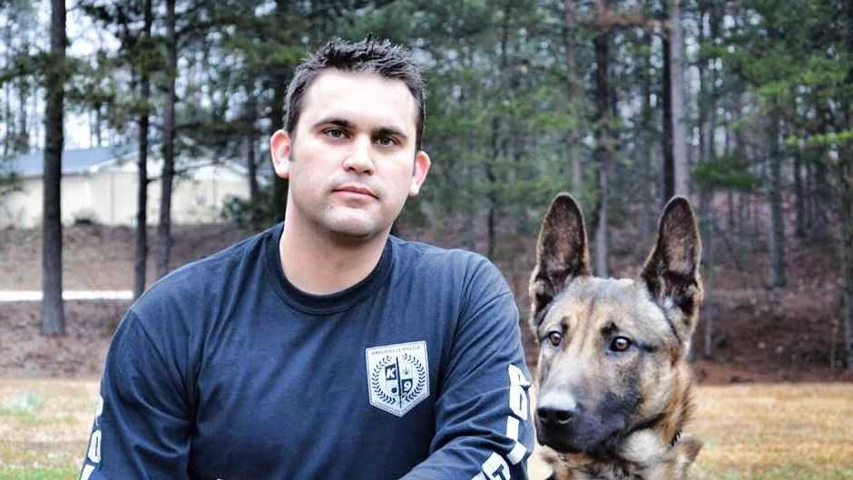 Greenville police dog killed