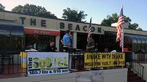 A special Awake With Drake radio show broadcast live from the Beacon Drive-In in Spartanburg on Friday in honor of broadcaster Bill Drake, who is recovering from cancer.