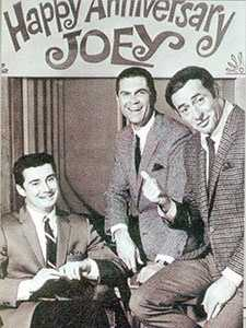 Johnny Mann with Regis Philbin and Joey Bishop in the 1960s.