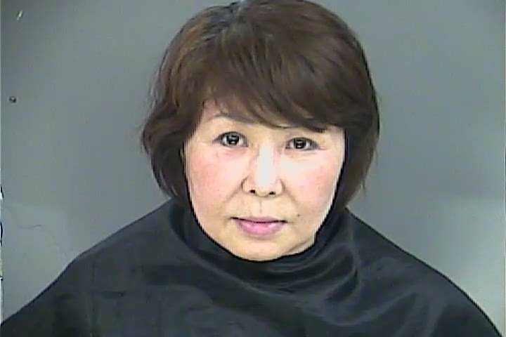 Jung Ja Kim: charged with prostitution