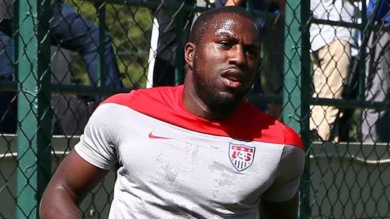U.S. forward Jozy Altidore strained his left hamstring in the Americans' opener against Ghana on June 16 and didn't appear in their next two games.