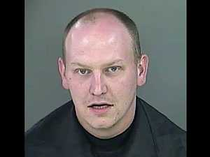 Randy Beatty: charged with presenting a firearm