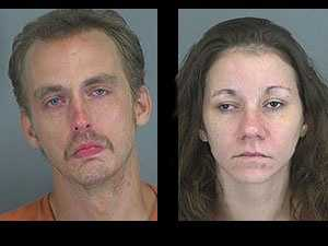 Christopher Knighton, Ashley Underwood: charged with indecent exposure