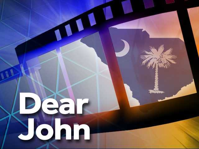 Dear John (2010) -- Edisto Island, Charleston. This film was the second Nicholas Sparks adaptation filmed in South Carolina. The plot centers around an Army Sergeant (Channing Tatum) who falls in love with a college student (Amanda Seyfried). After a couple weeks of knowing each other, the two begin a long-distance relationship while Tatum's character is enlisted in the Army.