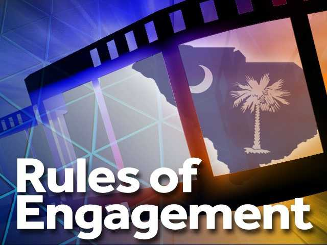 """Rules of Engagement (2000) -- Hunting Island. Starring Samuel L. Jackson and Tommy Lee Jones, """"Rules of Engagement"""" told the story of a Marine colonel who is sent to court-martial for disobeying the rules of engagement that resulted in the slaughter of civilians."""