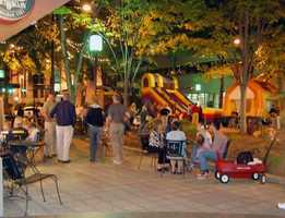 Main Street Friday has a Kids' Zone that includes inflatables. The weekly music series on Main Street in Downtown Greenville runs through September 26. The event site opens at 5:30 p.m. and closes at 9:30 p.m., with bands playing two sets at 5:50 pm and 7:40 pm. Main Street Friday features a variety of music, including jazz, blues, oldies and soul music. For more information, click HERE.