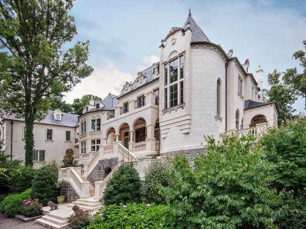 Take a sneak peek inside one of the largest and most expensive homes currently for sale in our area.