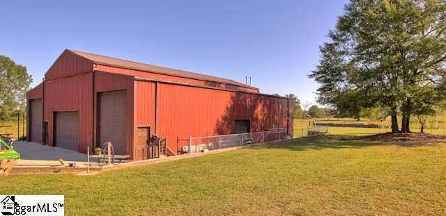 The property also has a multi-stall barn, with tack room and abundant storage. This home is listed on realtor.com for $1,499,000.