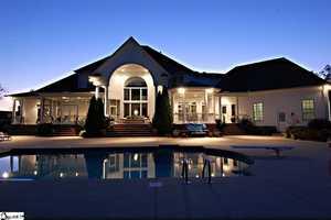 Fountain Inn: This house and horse farm sits on 304 acres.