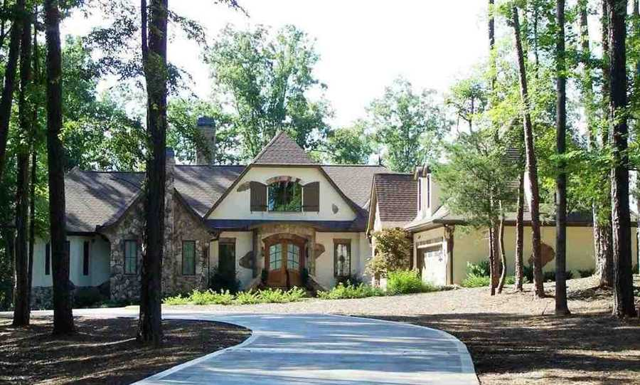 Seneca: This Lake Keowee waterfront home has wide open lake and mountain views.