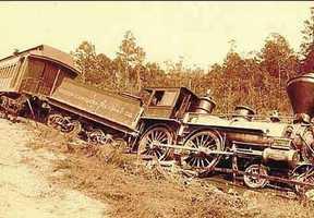 Train derailed near Summerville.