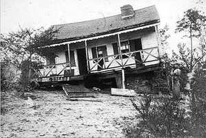 This home was in Summerville, the epicenter of the earthquake.