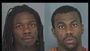 Antoine Shields, Tobias Rogers: Accused of pistol-whipping, robbing off-duty officer