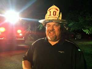 """""""The smoke detector saved six lives today,"""" said Cowpens Fire Chief Tony Blanton, referring to the four people and two pets who got out safely."""