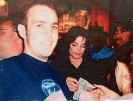 He met Michael Jackson during a trip to Disney World in college.