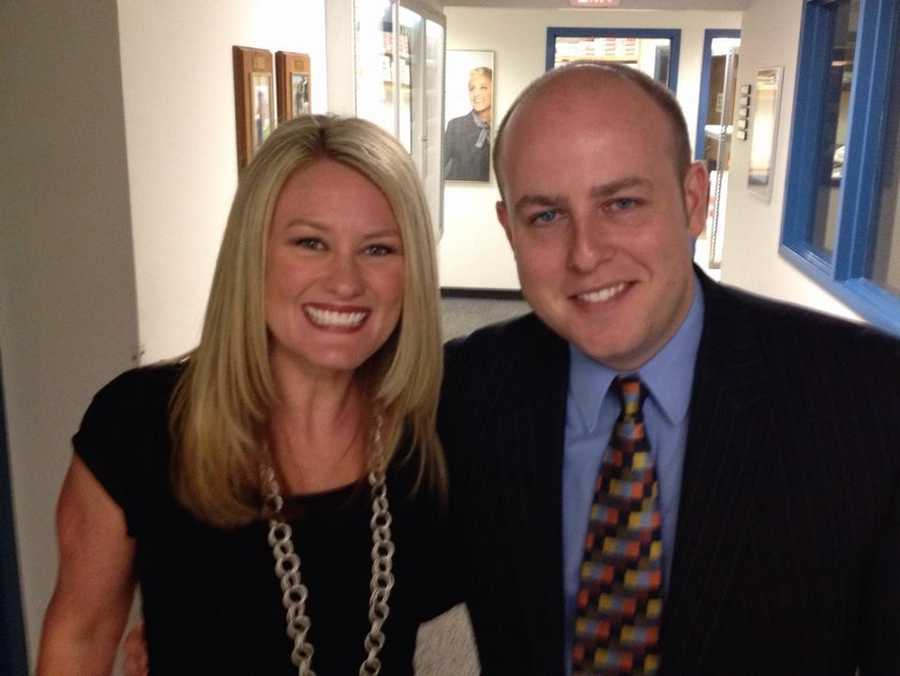 When Mike interviewed for a job at WYFF News4 in 2007, he was up for a reporter position in the Anderson Newsroom. That job went to Mandy Gaither, but Mike soon ended up in the Spartanburg Newsroom, and he couldn't be happier in The Hub City! You can follow Mike on Twitter @MikeMcCWYFF