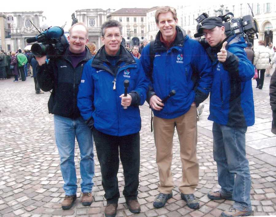 In 2006, Geoff spent a month in Italy covering the Winter Olympics in Torino for WYFF News 4 and all of Hearst's other tv stations.