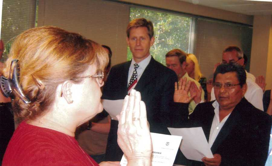 Canadian born, Geoff became a naturalized American citizen in 2007.