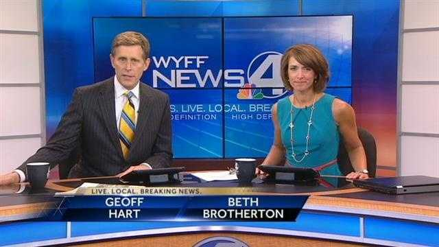 In March 2011 Geoff was named co-anchor of WYFF News 4 Today.