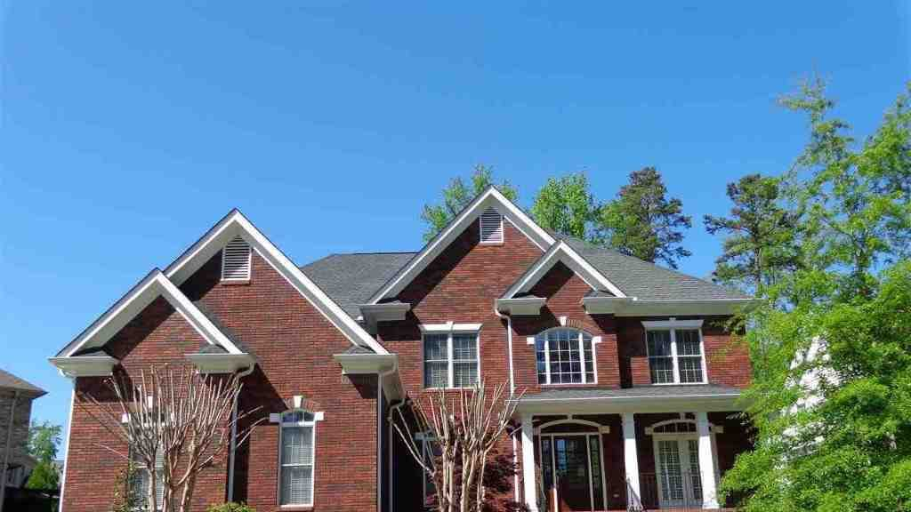 This home, also for rent in Greenville, has 5 bedrooms, 4 full baths and 1 half bath.