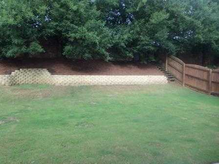 The home has a spacious, fenced in backyard with area for a fire pit. It is listed on realtor.com for $1,925 a month.