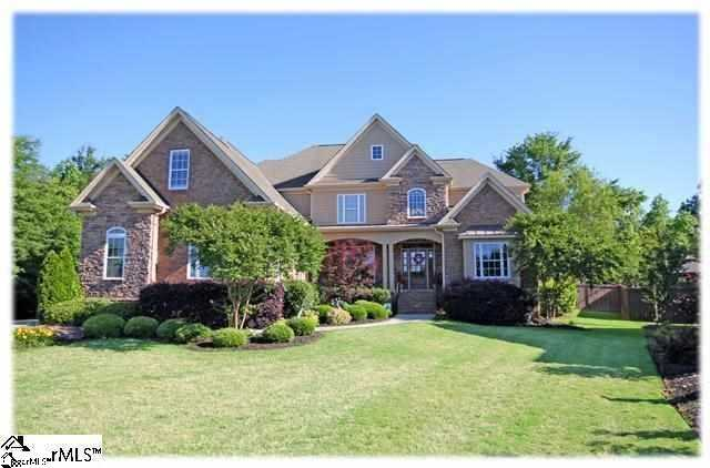 This custom built home is for rent in Simpsonville.