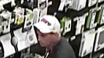 Suspected shoplifter at Target