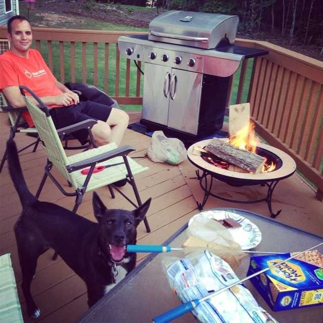 Chris and his wife live in Travelers Rest where they enjoy s'more nights on the back deck.